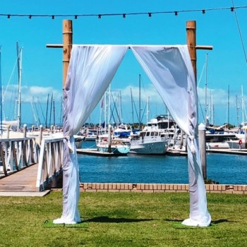 Bamboo Arch Hire