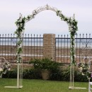 Ivory Iron Arch Hire
