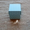 Polka Dot Favour Box With Lid