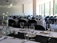 Black and White Wedding Redland Bay Golf Club.jpg