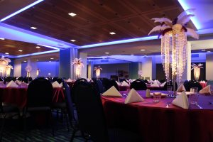 Feather Chandeliers