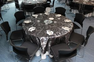 Awards Lunch Black & Silver Theme