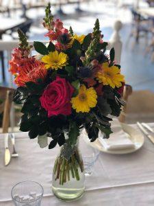 Boho Fresh Flower Arrangement