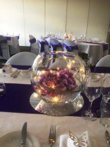 LED Floral Purple