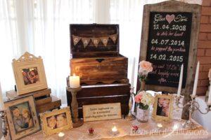 Gift Table Wishing Wells