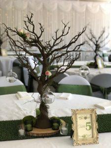 Manzanita Tree Brown with Grass Runner