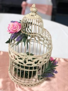 Melbourne Cup Birdcage with Pink