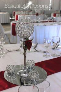 Single Stem Crystal Goblet
